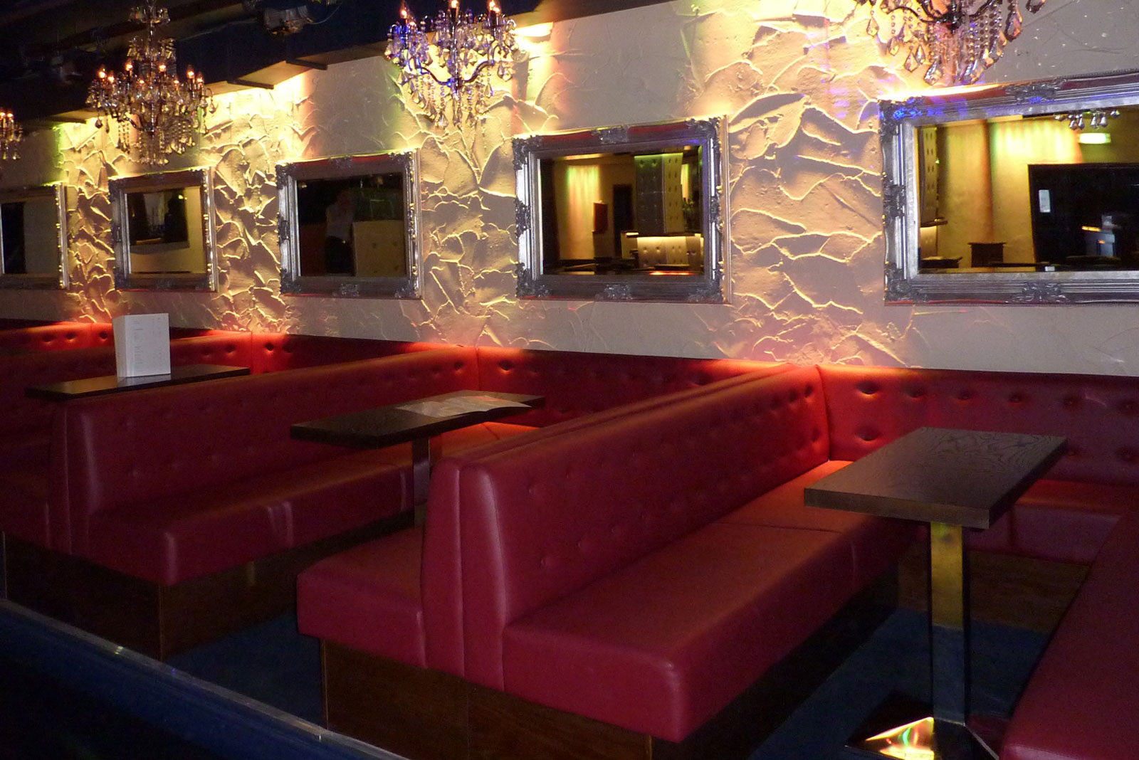 Nightclub Furniture & VIP Booth Seating for Club One, Ascot